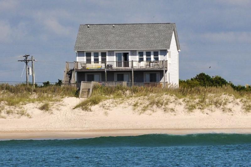 388 New River Inlet Road - New River Inlet Rd 388 Oceanfront! | Jacuzzi, Fireplace, Hot Tub, Internet, Wedding Friendly - North Topsail Beach - rentals