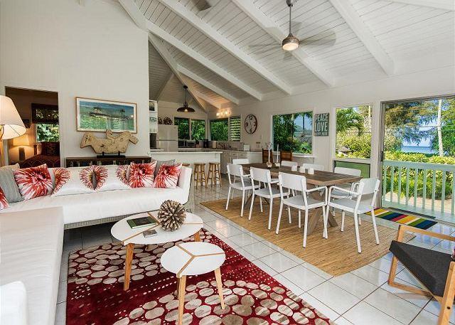 A modern 3 bedroom, 2 bath home | Hanalei Bay - Winter Specials! - Image 1 - Hanalei - rentals