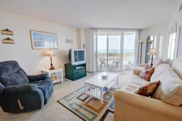Living Room - St. Regis 3105 -2BR_6 - North Topsail Beach - rentals