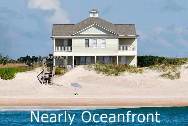 I'm on a boat! - New River Inlet Rd 1529 Oceanview! | Private Heated Pool, Hot Tub, Jacuzzi - North Topsail Beach - rentals
