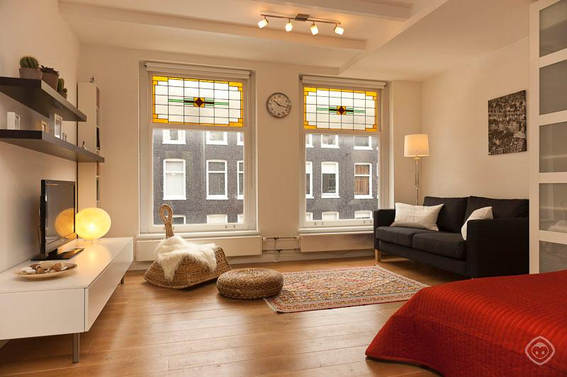 Living Room Saenredam Studio Apartment Rome - Saenredam studio Amsterdam - Amsterdam - rentals