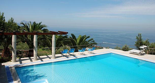 Villa Near Massa Lubrense on the Sorrento Peninsula - Villa Procida - 24 - Image 1 - Marciano - rentals