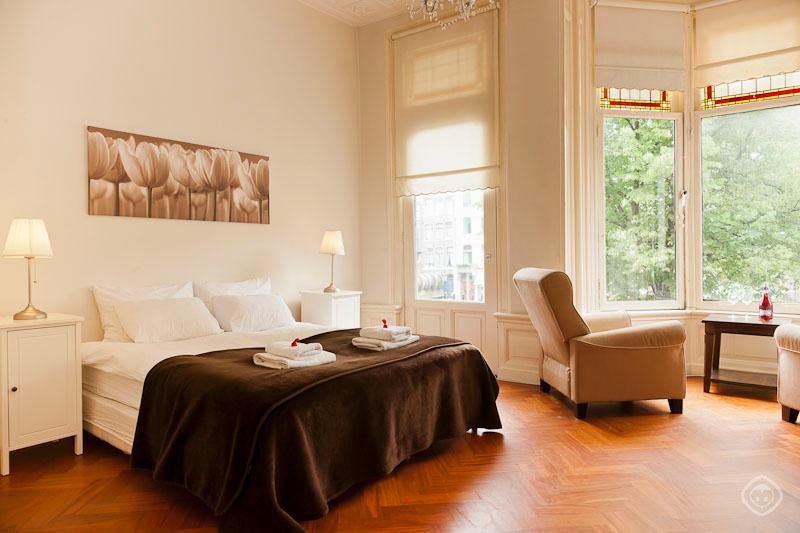 Bedroom Keizer SuiteApartment Amsterdam - Keizer suite Amsterdam - Amsterdam - rentals