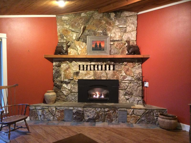 Main living room - Happy Hollow River Retreat - Tillamook - rentals