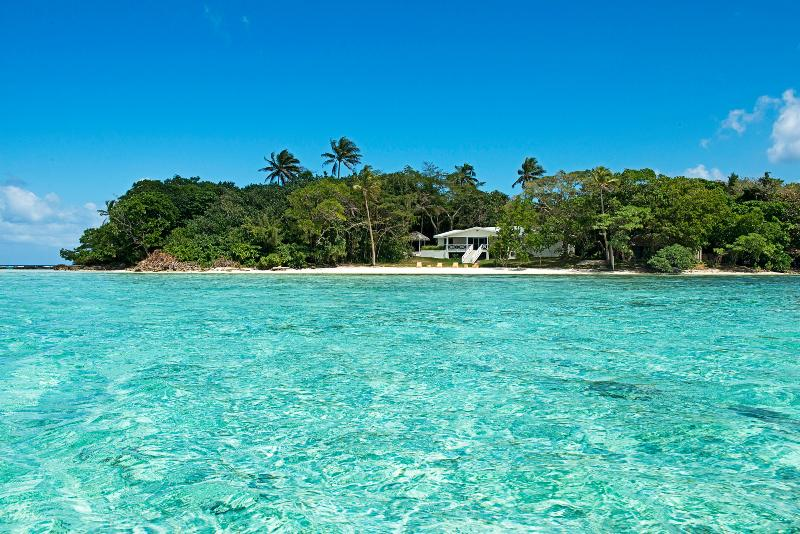 From the water - Aqua Blue Beach House - Port Vila - rentals