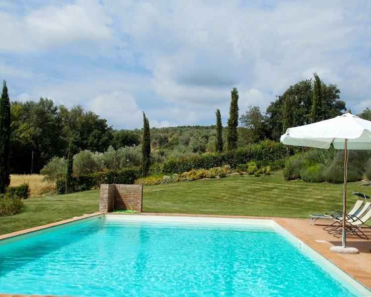 9 bedroom Villa in San Gimignano, San Gimignano, Volterra and surroundings - Image 1 - Pancole - rentals