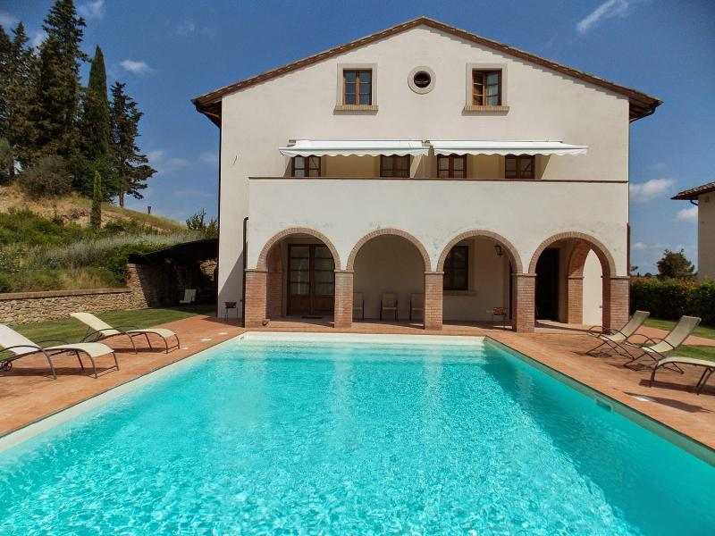 5 bedroom Villa in San Gimignano, San Gimignano, Volterra and surroundings, Tuscany, Italy : ref 2294047 - Image 1 - Pancole - rentals