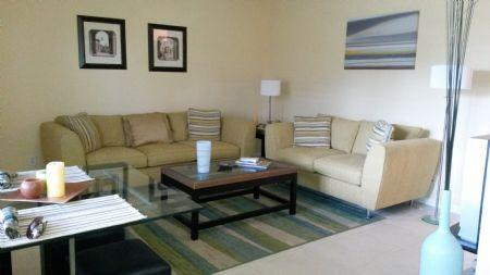 Living Room Area - Aquarius A4 - Marco Island - rentals