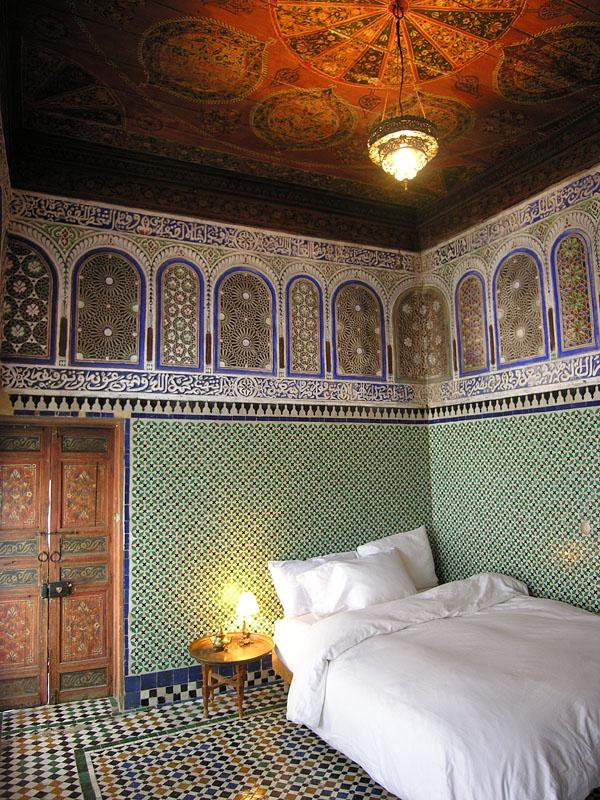 The upstairs Menzeh bedroom - An Antique Royal Suite in Fes - Fes - rentals