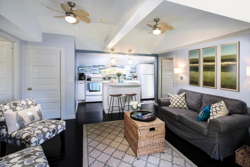 Beautifully decorated but nothing is precious. Put your feet up!! - Sea Glass Cottage-Waterview-Pet Friendly w/kayaks & Walking Nature Trails - Dennis - rentals