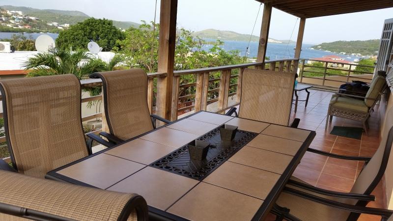 Bay View While Dinning - Villa Bahia Vista - Culebra - rentals