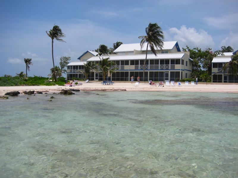 The Retreat complex viewed from Caribbean - Rum & Kai - TripAdvisor Rum Point Award Winner - Grand Cayman - rentals