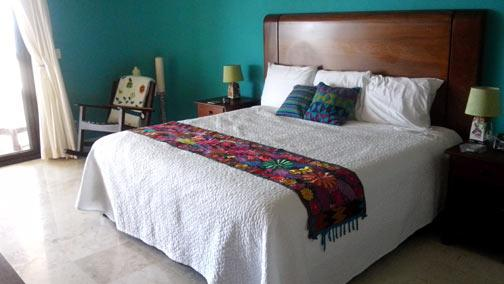 King sized Master bedroom is spacious and oh so comfortable - Hidden Gem - Costa Maya Villa #101 pool level - Majahual - rentals