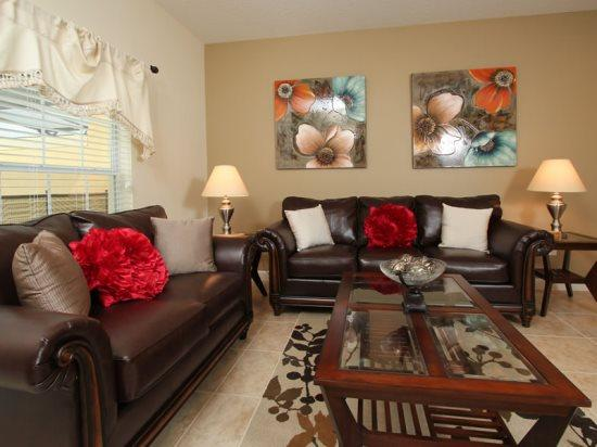 4 Bedroom 3 Bathroom Town Home Sleeps 8. 3043BP - Image 1 - Orlando - rentals