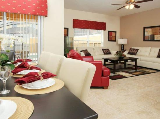 4 Bedroom 3 Bath Town Home In Paradise Palms Resort. 8964CUBA - Image 1 - Orlando - rentals