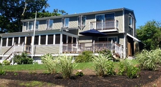 Second Front ~ facing the Centerville River and beach road. - Craigville Beach - Spacious, Clean & Comfortable - Centerville - rentals