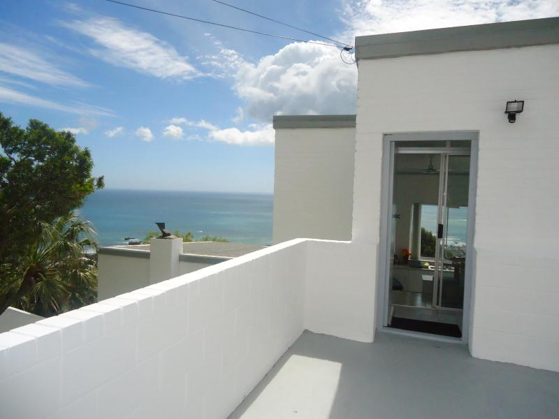 View from the Drive into the front door of apartment - Camps Bay Views Holiday Accommodation - Cape Town - rentals