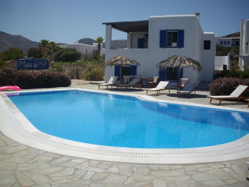 Villa Paros.  Apt is on the lower level. - Two Bedroom Apartment by the Sea - Paros - rentals