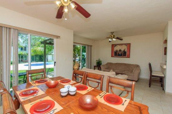 Villa del Carmen - Dining area - Playa del Carmen vacation rentals - Villa del Carmen - Guadalupe - rentals