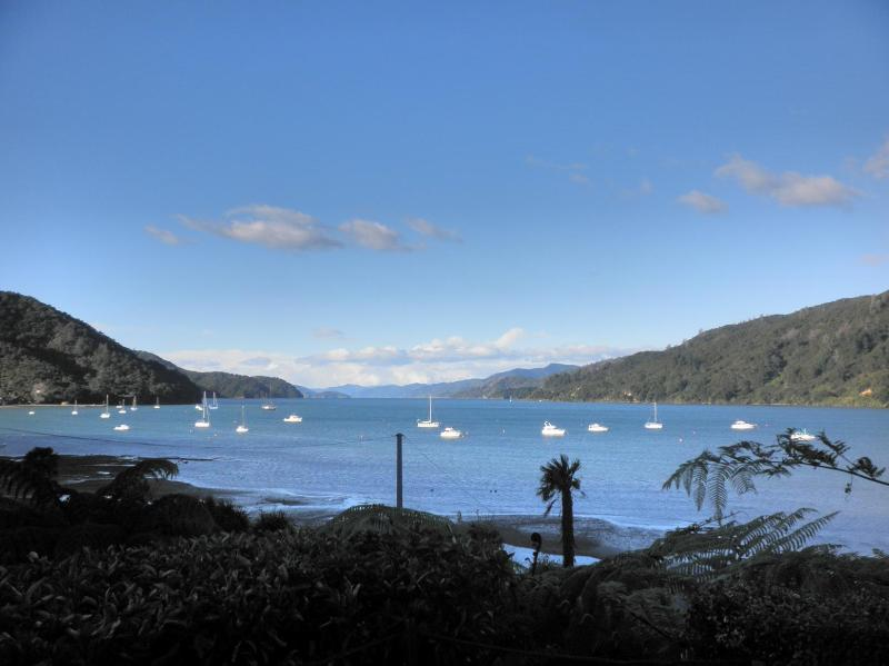 View from Tirimoana House - Tirimoana House Bed & Breakfast Lodge - Anakiwa - rentals