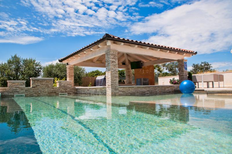 Pool-Bar Villa in Vodnjan (~50m2 pool). 4Km Sea - Image 1 - Vodnjan - rentals