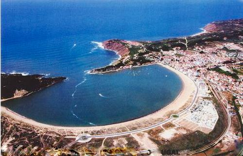 Bird's Eye View of the Sao Martinho Bay - 1 Bedroom Apartment with Sea and Land Views - Sao Martinho do Porto - rentals
