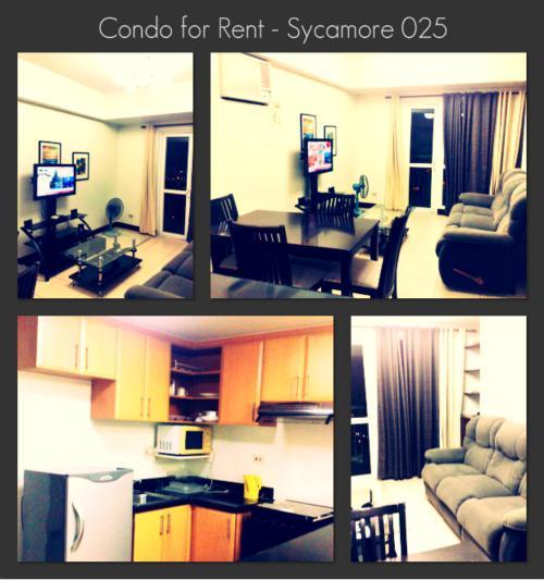 Sycamore 025 - 2 Bedroom Condo, Mandaluyong City - Sycamore 025 - Mandaluyong - rentals