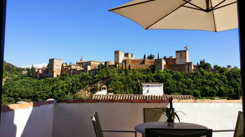 Private Terrace Overlooking Alhambra - ALHAMBRA BEST VIEWS PENTHOUSE - Province of Granada - rentals