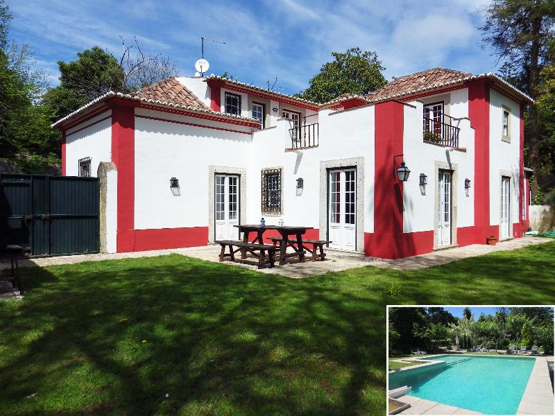 Villa in Sintra with Pool & Wi-fi 10 guests - Image 1 - Sintra - rentals
