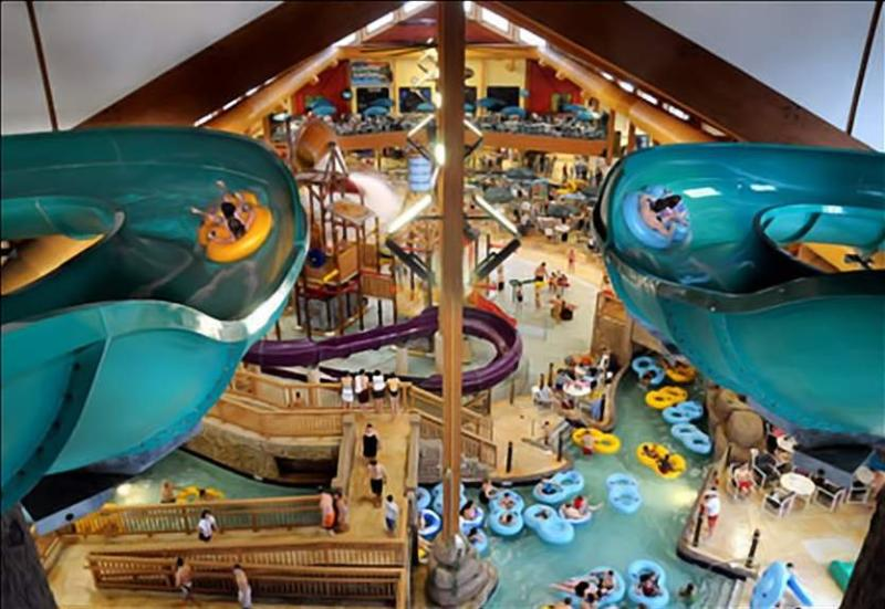 Waterparks Galore - Glacier Canyon, Wilderness Area at Wisconsin Dells - Wisconsin Dells - rentals