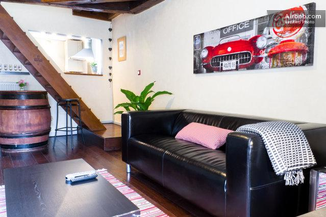 living room - Le Lodge, Cocooning au Coeur de Dijon - Dijon - rentals
