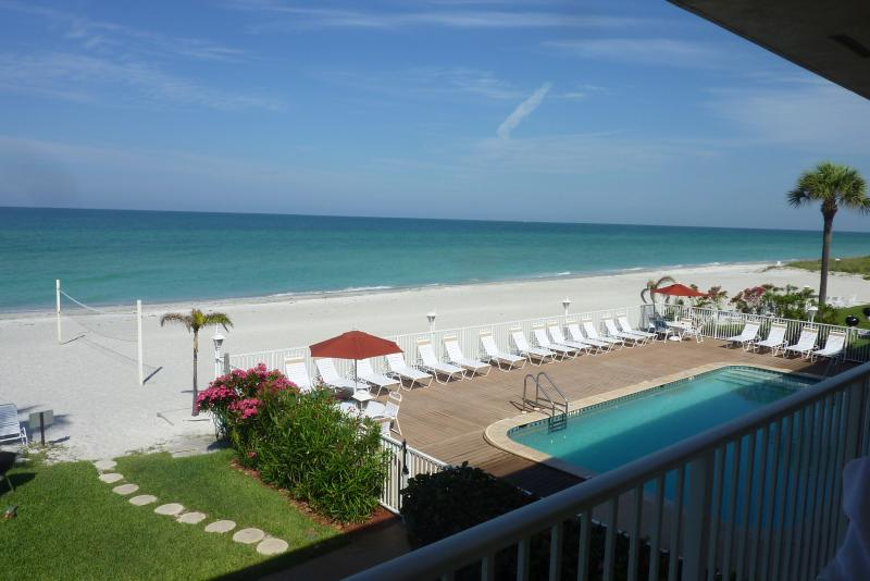 Spacious Gulf Front beach condo on Longboat Key - Image 1 - Longboat Key - rentals