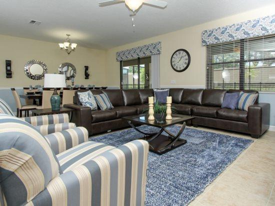8 Bed 5 Bath ChampionsGate Pool Home That Sleeps 19. 1506MVD - Image 1 - Orlando - rentals
