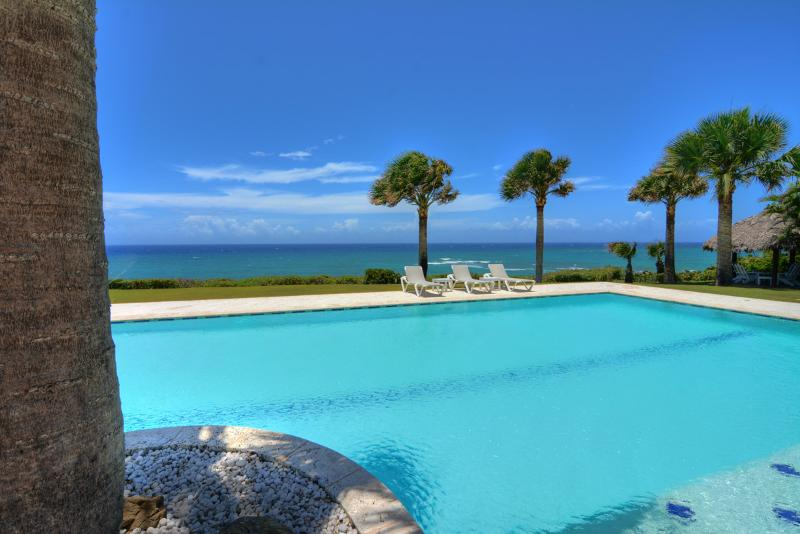 Spectacular oceanfront villa with 9 hole golf putting green - Image 1 - Cabarete - rentals