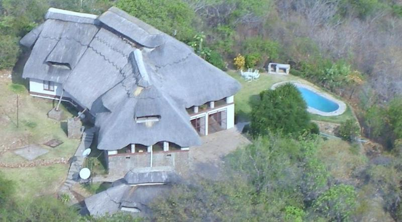 House from the air - The Big House in Kariba - Kariba - rentals