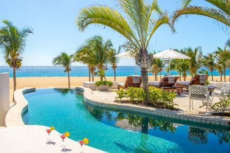 Beachfront Villa Pacifica - Pedregal- serene ambiance with infinity pool & fire pit - Image 1 - Cabo San Lucas - rentals