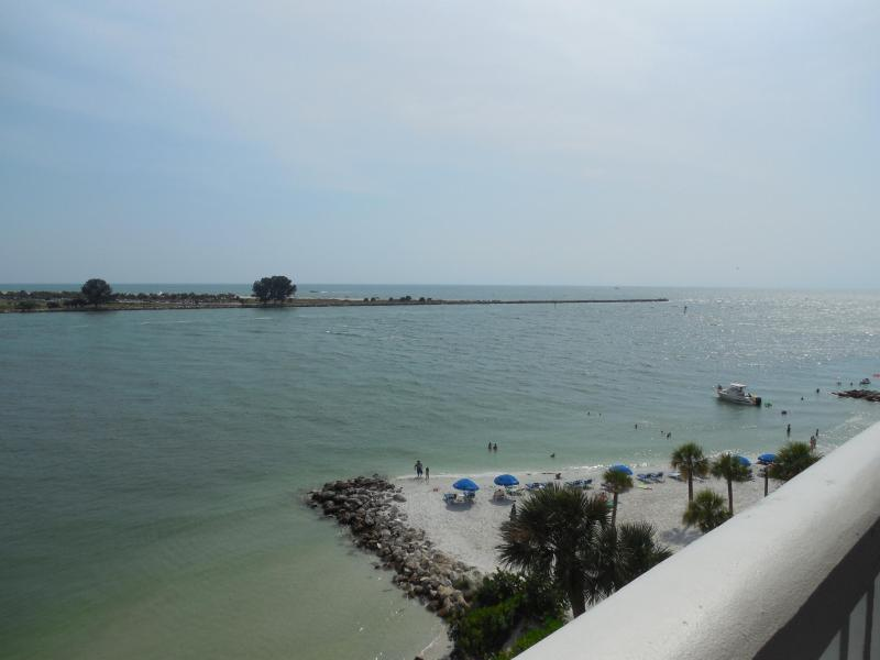 Gulf View from balcony - Newly remodeled WATERFRONT 2/2 - Clearwater - rentals