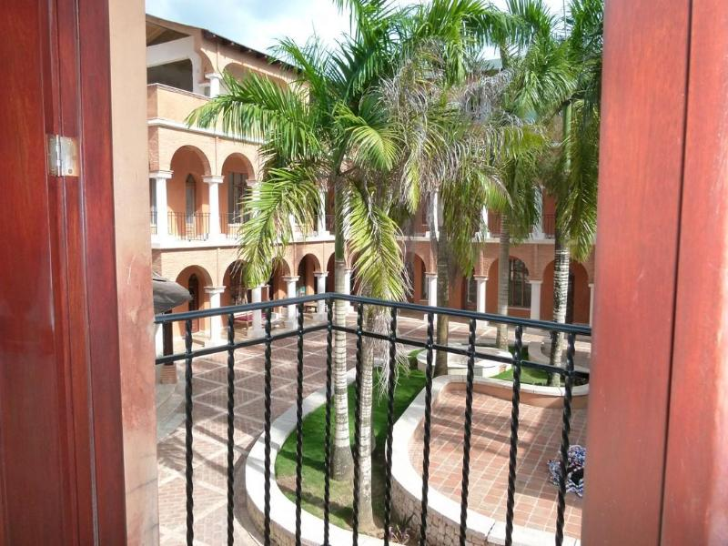 colonial square - a tipical colonial builiding  in front of the sea - Las Terrenas - rentals