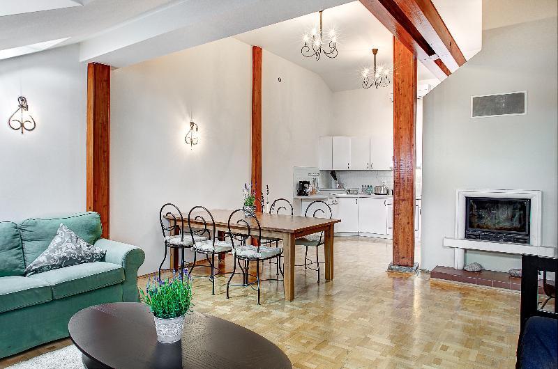 Royal Mansion - Exclusive 2BR Attic with Fireplace - Royal Mansion - Exclusive 2BR Attic with Fireplace - Prague - rentals