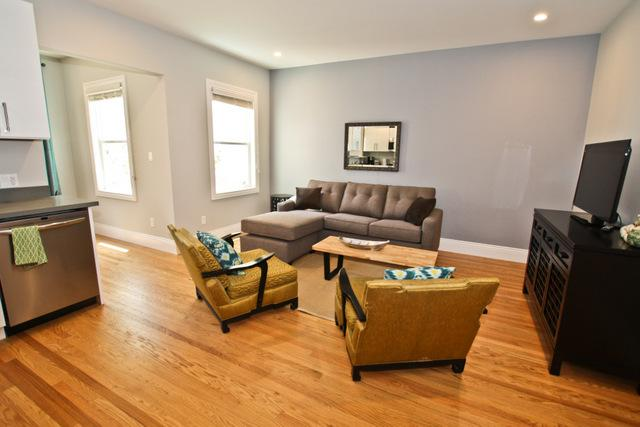 Living room - Downtown SOMA - San Francisco - rentals
