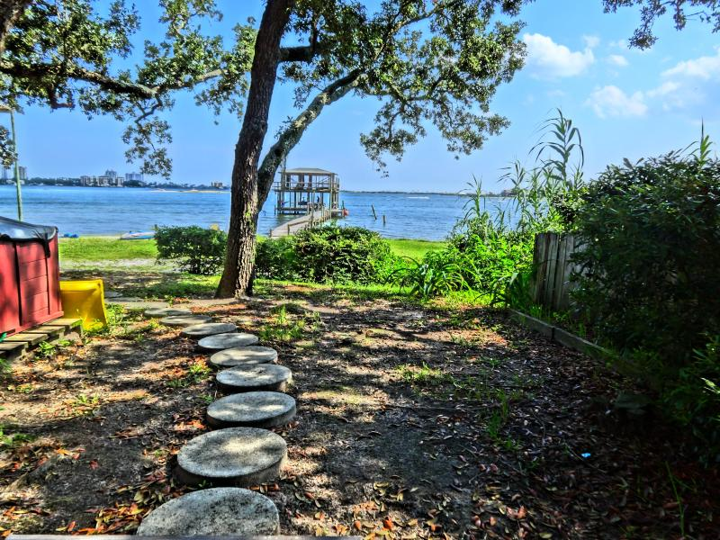 "Walkway to fishing pier - A "" Peaceful Retreat "" - Pensacola - rentals"