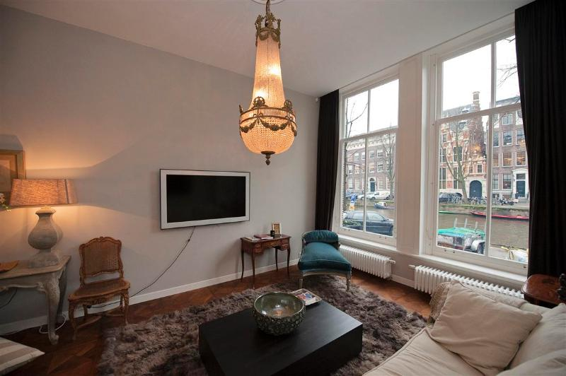 Living Room Presidential Canal View Suite Apartment Amsterdam - Presidential Canal View Suite - Amsterdam - rentals