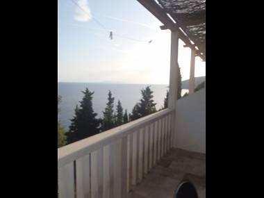 B(3): terrace view - 5666  B(3) - Sveta Nedjelja - Sveta Nedjelja - rentals