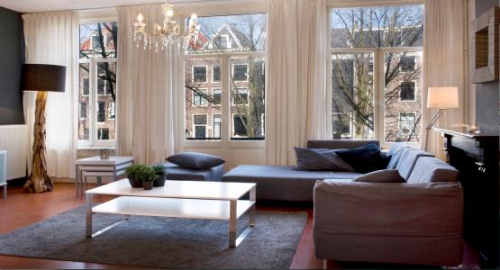 Living Room Canal Apartment Amsterdam - Canal Apartment - Amsterdam - rentals