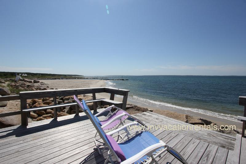 URSIV - Herring Creek Waterfront Cottage,  Private Beach Frontage, Spectacular Views, Kayak, Swim, Fish or Just Relax - Image 1 - Vineyard Haven - rentals