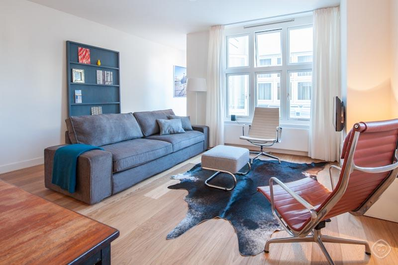Living Room Central City apartment Amsterdam - Central City apartment Amsterdam - Amsterdam - rentals