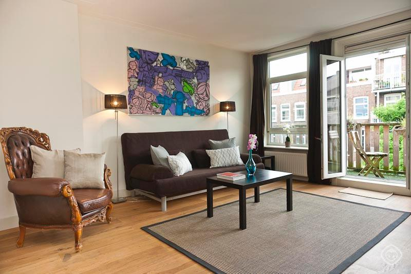 Living Room Oosterpark Apartment Amsterdam - Oosterpark apartment Amsterdam - Amsterdam - rentals