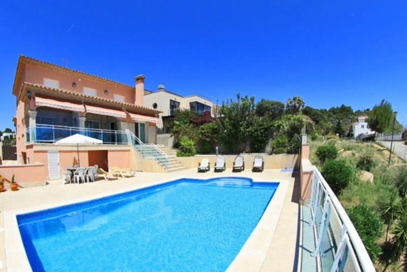 500 (!) Meters from Costa Brava beach: Villa Paros - Image 1 - Palamos - rentals