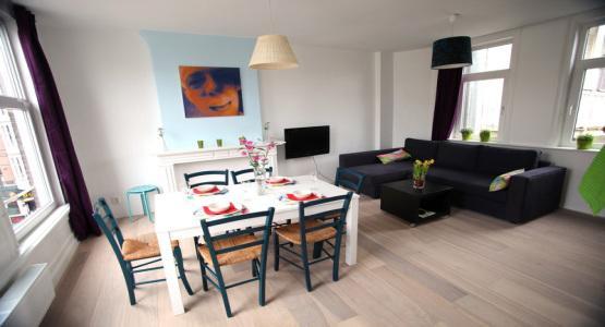 Living Room Casa Bonita Apartment Amsterdam - Casa Bonita - Amsterdam - rentals