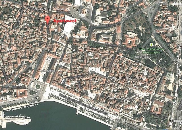 Duplex apartment 100 m from Diocletian Palace - Image 1 - Split - rentals